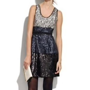 Broadway & Broome Colorblock Sequin Tank Dress 4